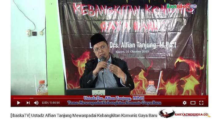 Jadi Tersangka, Alfian Tanjung Ditangkap Polisi