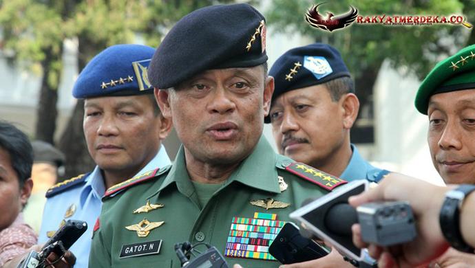 Di Depan Presiden, Panglima Gatot: Jangan Ragukan Kesetiaan TNI!