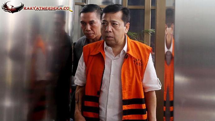 Kembali Diperiksa KPK, Setya Novanto Tidak Lagi Dituntun Petugas