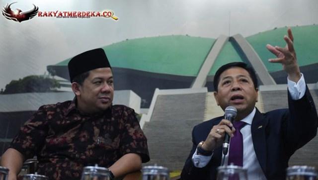 Setya Novanto Sebut Fahri Hamzah 1000 Persen Tidak Korupsi