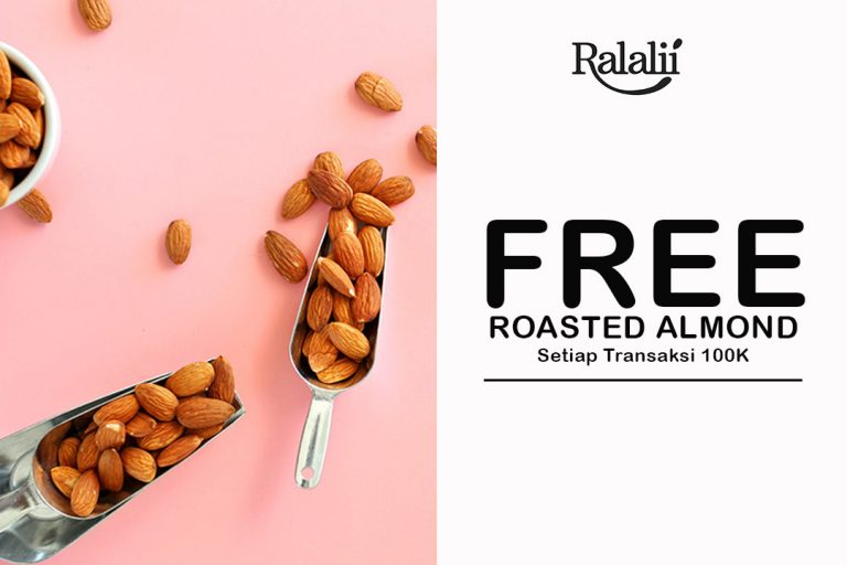 Free Roasted Almond 50 Gr