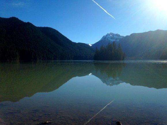 Money Shot Lake Reflection