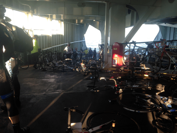 Bikes on Ferry 2