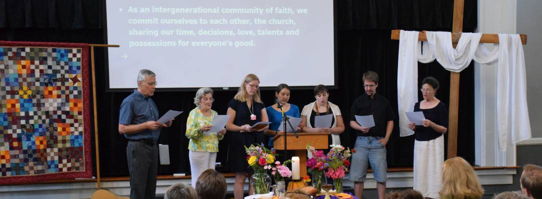 New members joining on Covenant Sunday, May 17, 2015
