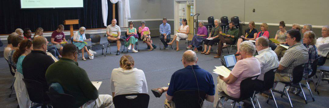 RMCers meet for quarterly church life meeting, Aug. 23, 2015