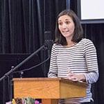 Mellissa speaking at RMC Nov. 20, 2016