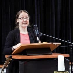 Rachel Taylor preaching Aug. 11, 2019