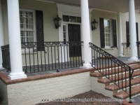 Charlotte NC custom wrought iron railings Raleigh Wrought