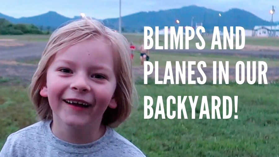 AIRPLANES & BLIMPS // TILLAMOOK, OREGON // RV FULL TIME // EP 06