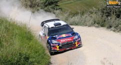 1 test Citroen WRC di Simone Trapassi
