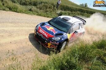 5 test Citroen WRC di Simone Trapassi