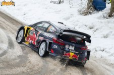 Le foto del Rally Montecarlo 2018 scattate da Lorenzo Cavallo per Rally.it