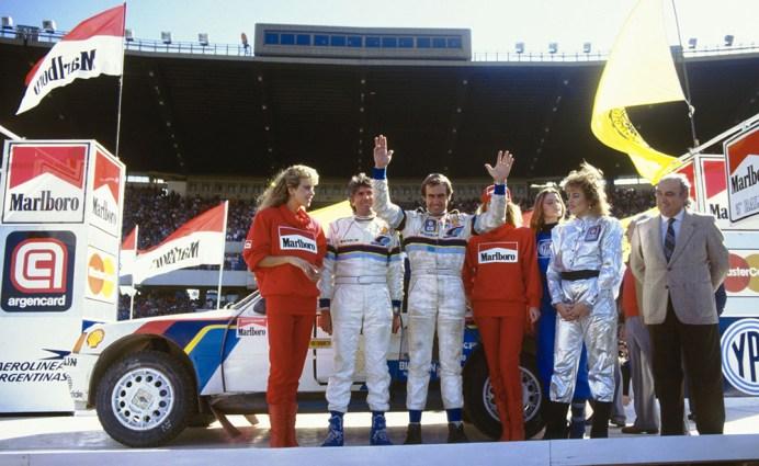 Argentina 1985. Reutemann/Fauchille. Peugeot 205 Turbo 16.