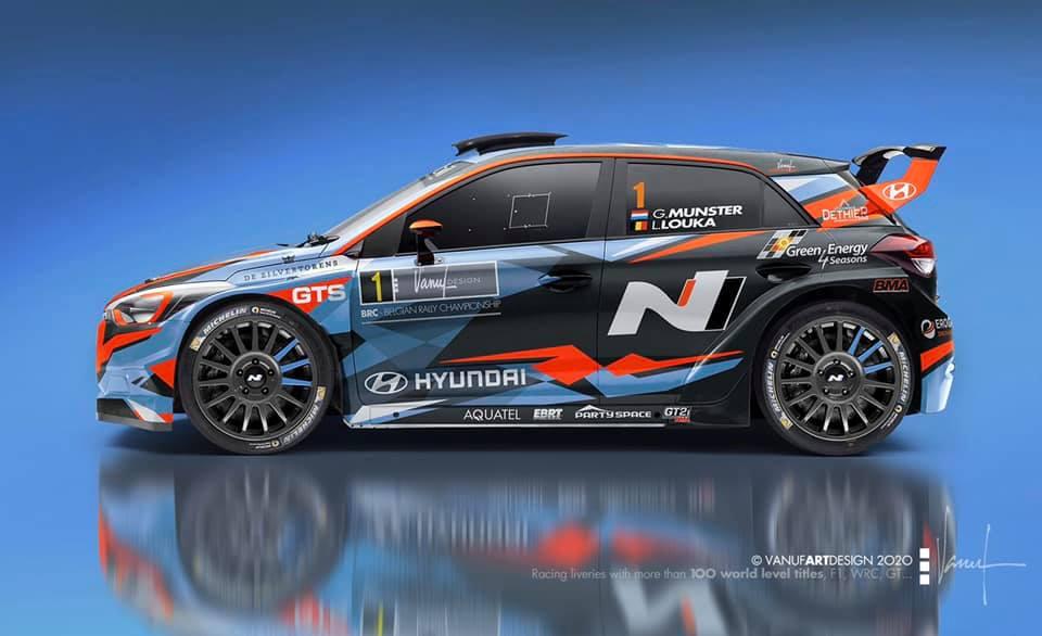 Hyundai i20 R5 pour Grégoire Munster
