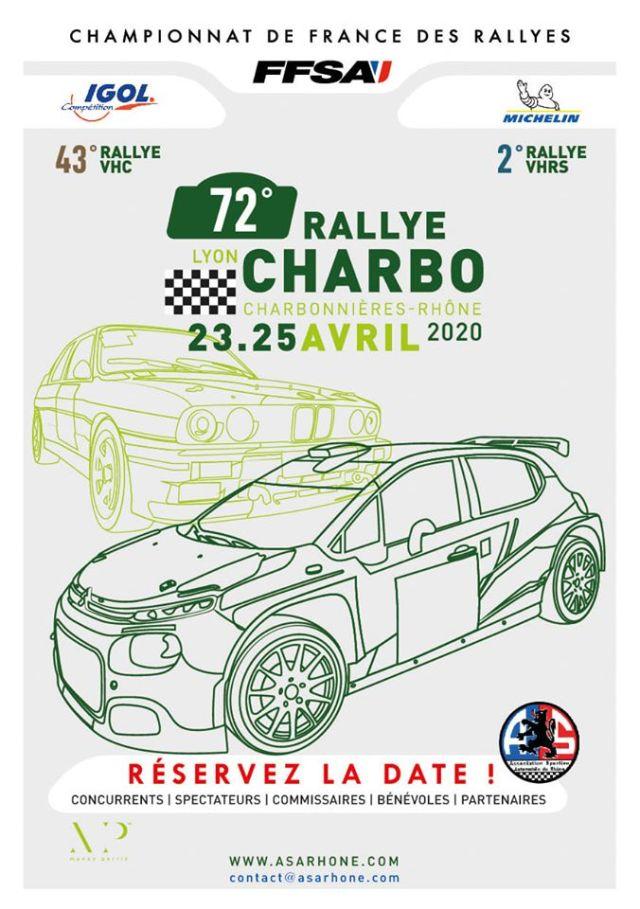 72ème édition du Rallye Lyon-Charbonnières-Rhône