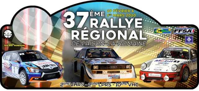 37ème Rallye Régional de Vaison la Romaine
