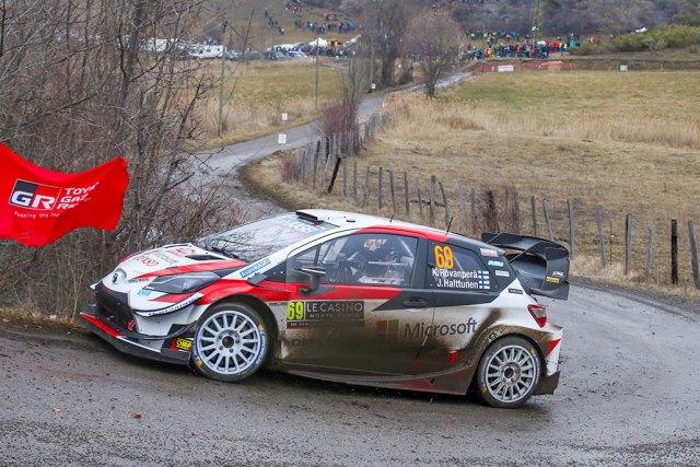 Kalle Rovanperä - Toyota Yaris WRC - Rallye Monté Carlo 2020