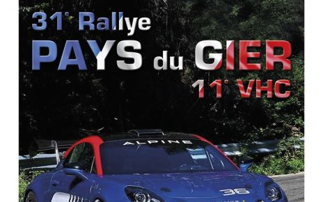 31 ème Rallye pays du Gier