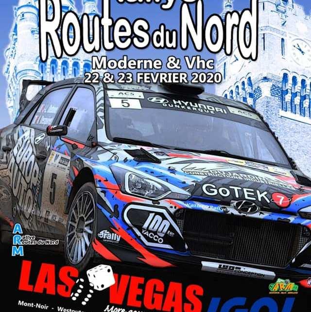 34 ème Rallye Régional des Routes du Nord 2020