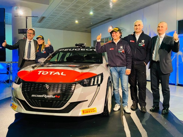 Paolo Andreucci  Anna Andreussi  - Peugeot 208 Rally 4