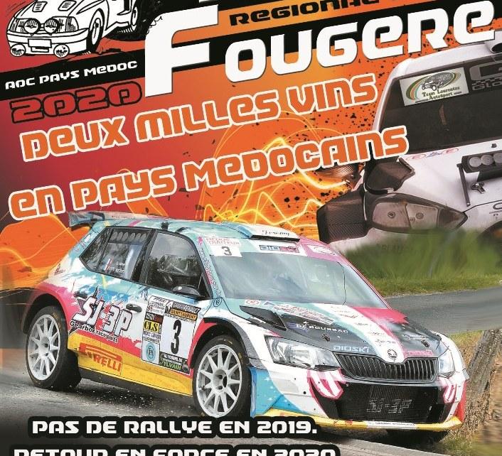 12 ème Rallye de la Fougère 2020