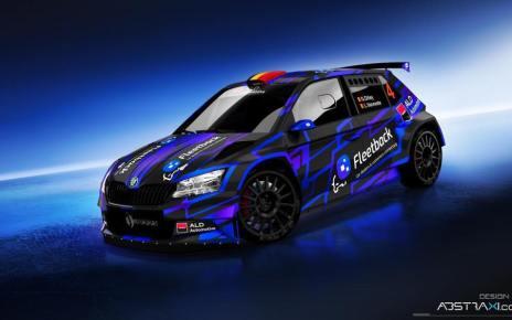 Skoda Fabia R5 Team SXM - Sylvain Michel - Spa Rally 2020