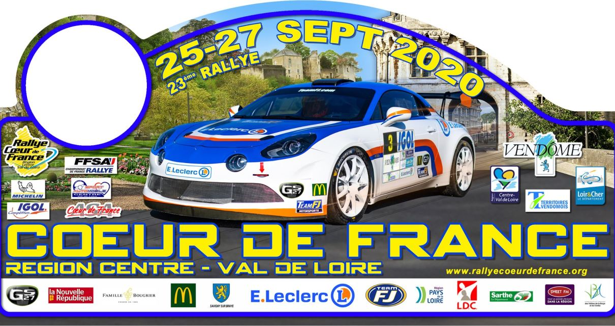 Rallye Coeur de France 2020