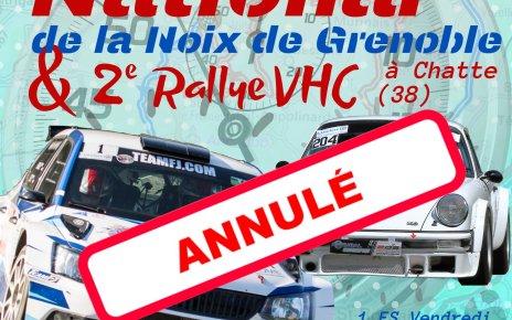 15ème Rallye National de la Noix de Grenoble & 2ème VHC