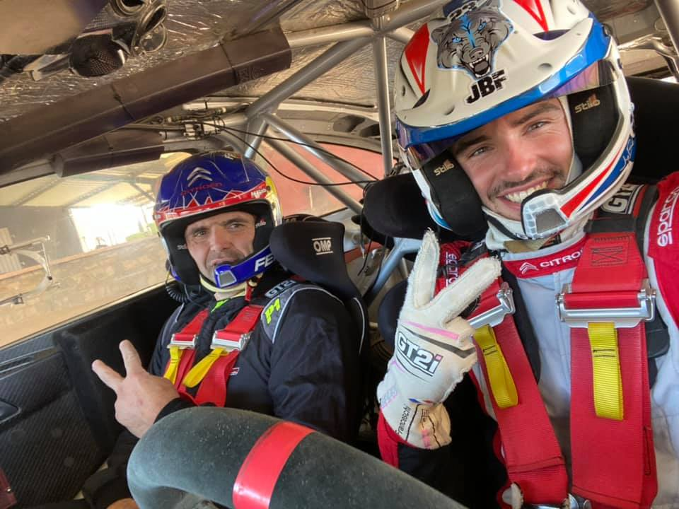 Jean-Baptiste Franceschi C4 WRC