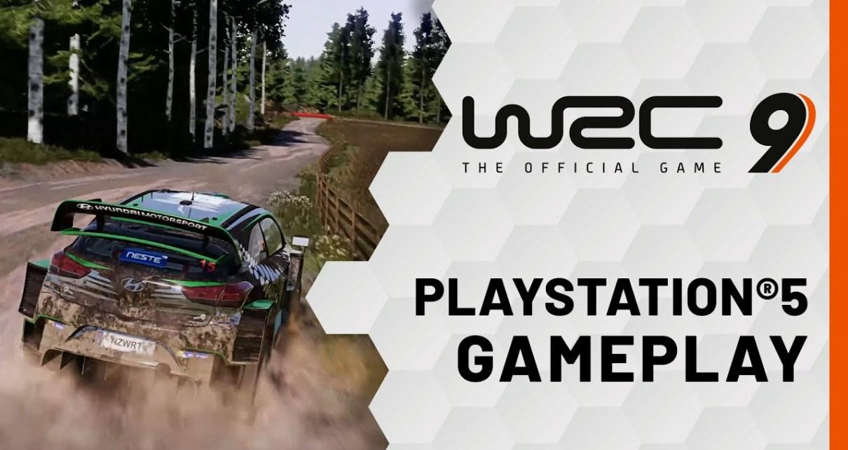 WRC9 sur PS5