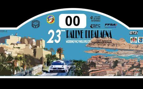 Rallye de Balagne 2020