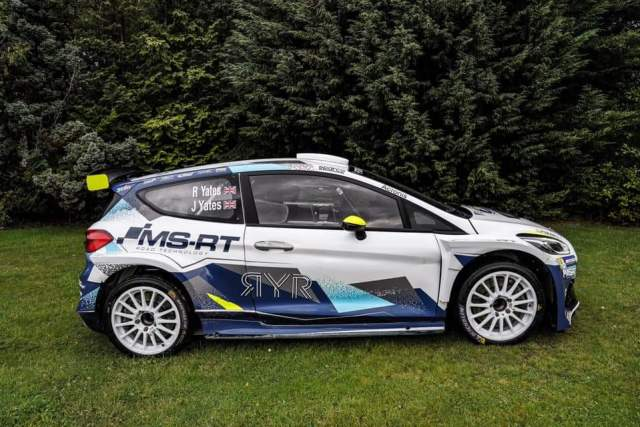 Rhys Yates Ford Fiesta R5 - Goodwood Speedweek Super Spécial 2020
