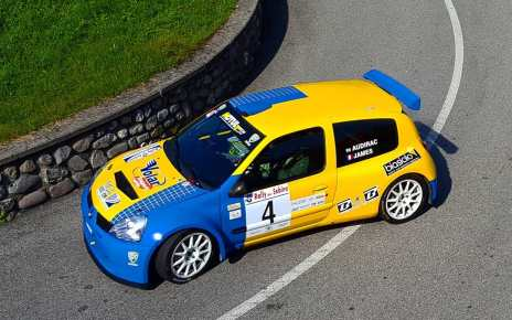 Audirac Cyril - James Jessica Renault Clio S1600