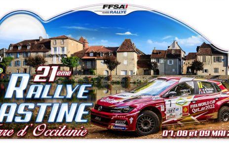 Rallye Castine Terre d'Occitanie 2021