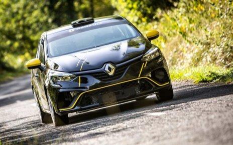 Florian Bernardi Clio Rally 4