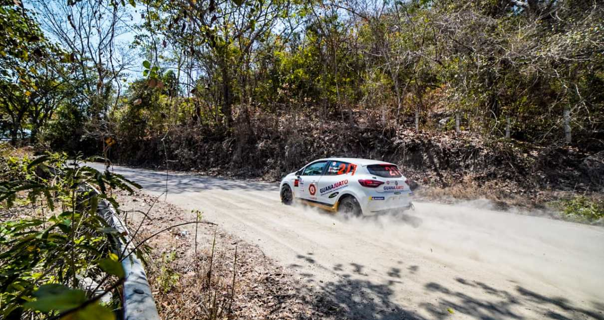 La Clio Rally5 retrouve la compétition au Mexique !