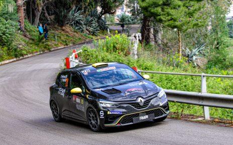 Première réussie pour la Clio Rally4 !