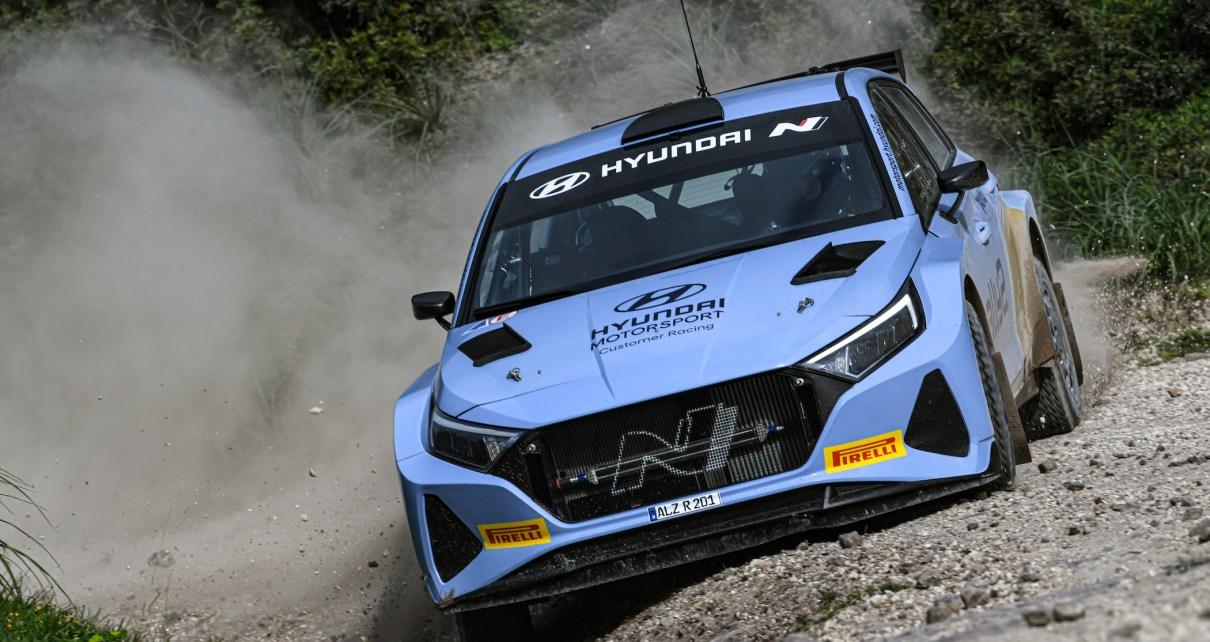 Un test en Hyundai i20 N Rally2 pour le Champion Junior !