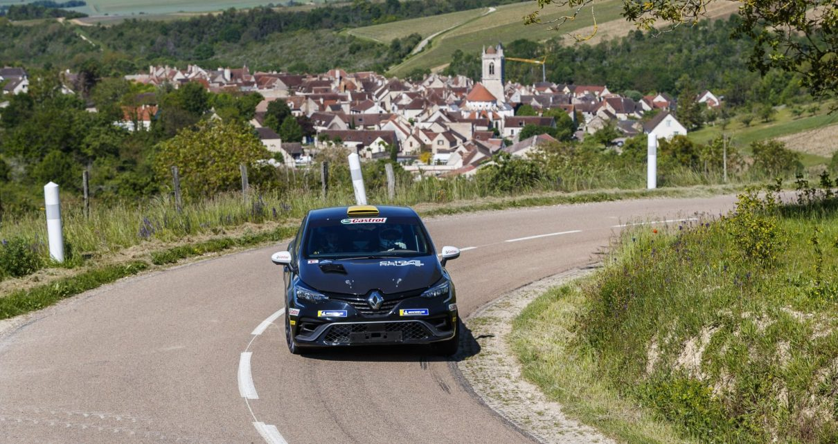 Bernardi, Franceschi et Nore en ERC avec la Clio Rally 4 !