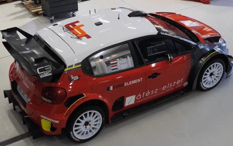 Robert Bútor fait rouler la C3 WRC...