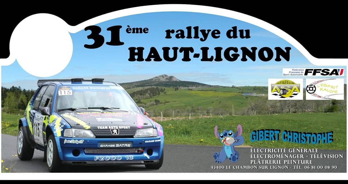 Rallye du Haut Lignon
