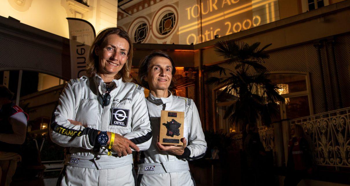 Mélina Priam et Anne-Chantal Pauwels finissent le rallye en beauté à Nice