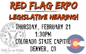 Red Flag Colorado ERPO Emergency Risk Protection Order Hearing Denver