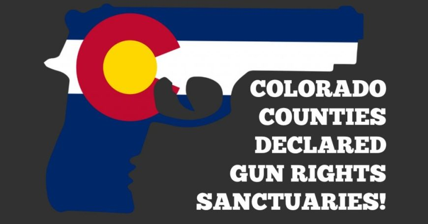 Second Amendment Sanctuary Counties Colorado Rally for our Rights