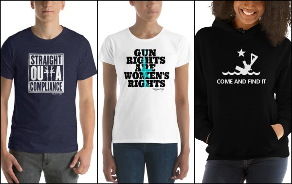 Rally for our Rights store shirts products gun rights