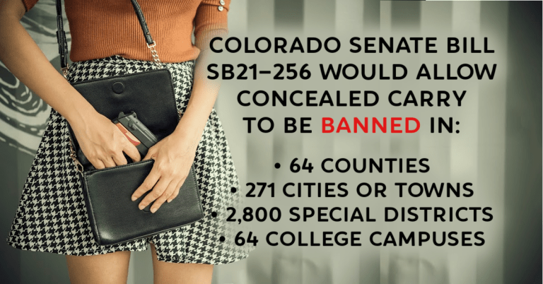 Concealed Carry Banned Under Proposed Colorado Gun Law