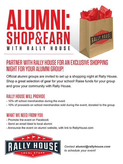 Alumni & Affiliate Programs | Shop your favorite teams at Rally House