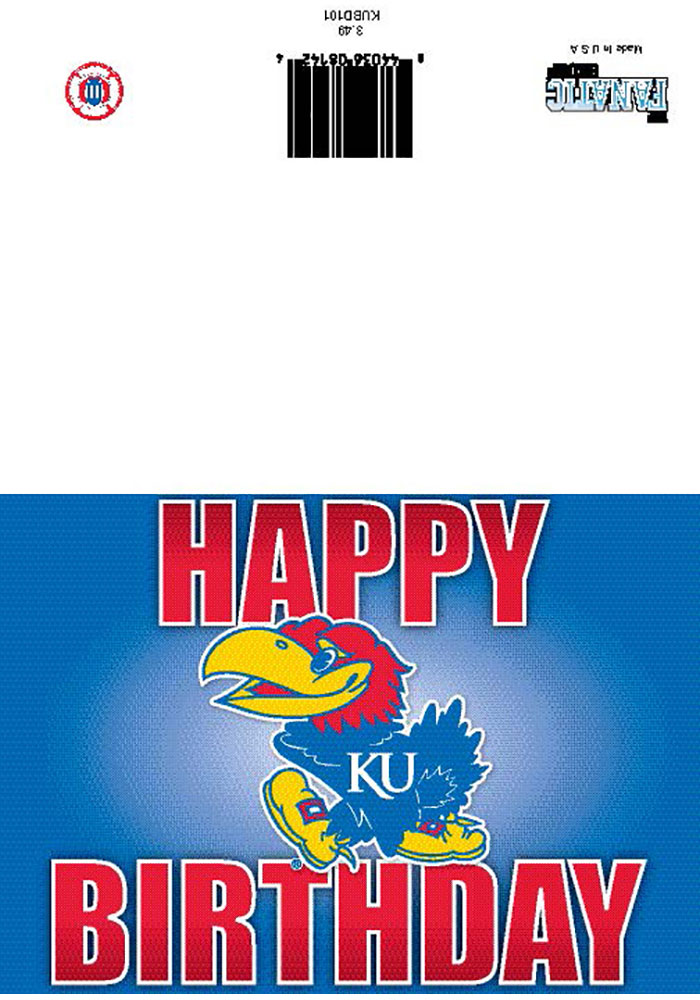 Kansas Jayhawks Home Decor KU Christmas Decor Jayhawk