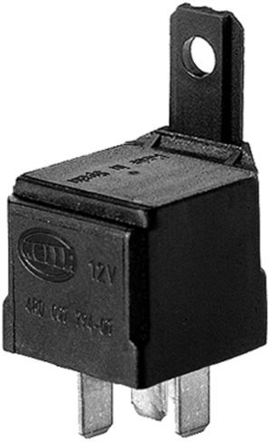 HL87419 Hella 12V 1020A Mini Relay SPDT with Resistor