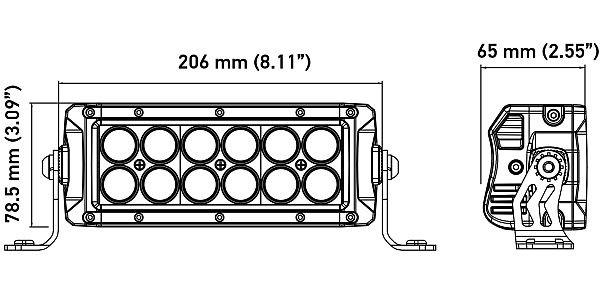 HELLA ValueFit Northern Lights Light Bar 12 LED / 8